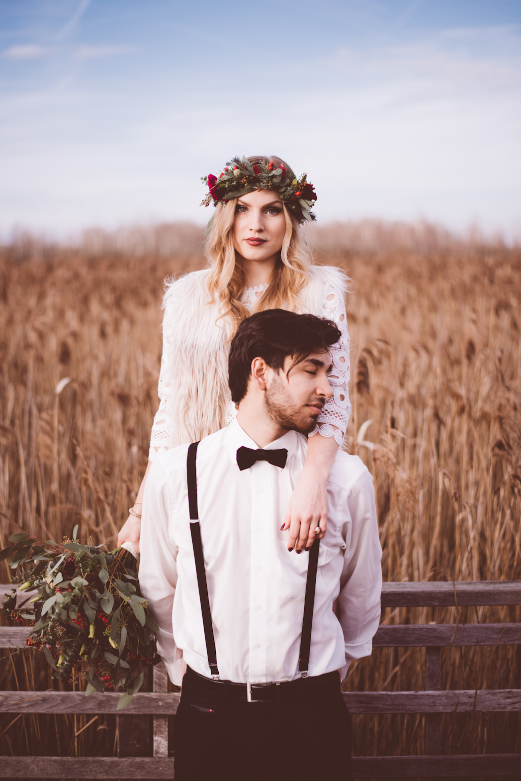 Indie Cool Winter Session at Federsee | Ana Fernweh | Destination Wedding Photographer