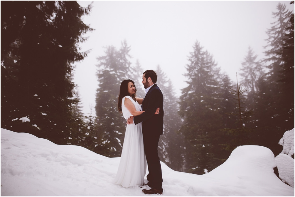 Black Forest Winter Engagement Session | Ana Fernweh | Destination Wedding Photographer