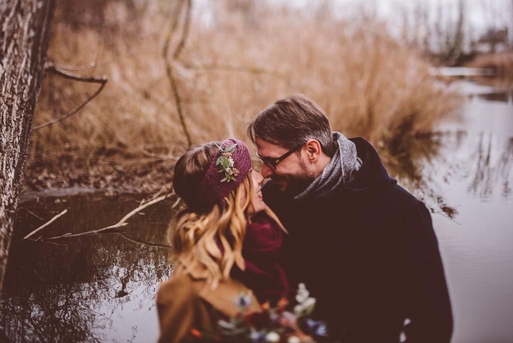 Winter Wedding in Stuttgart | Ana Fernweh | Destination Wedding Photographer
