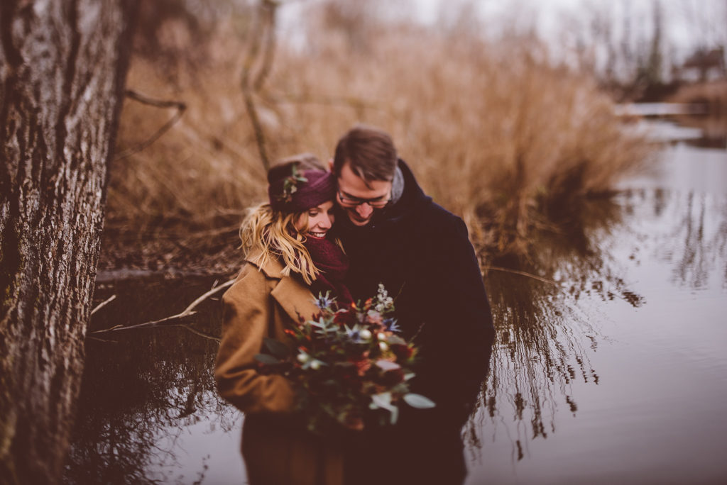 Winter Wedding in Stuttgart | Ana Fernweh | Destination Wedding Photographer